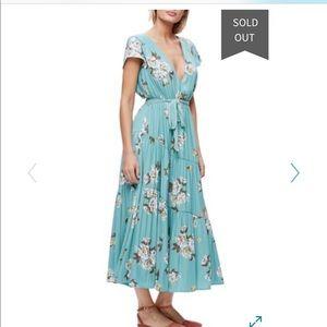Free People All I Got Floral Maxi Dress -Like New!